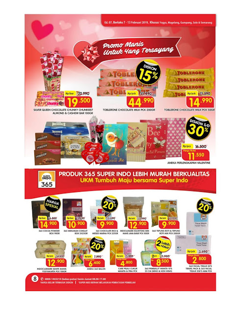 Katalog Super Hemat Super Indo Yogyakarta Magelang Solo Gumpang Salatiga  dan Semarang 7 Februari sampai 13 Februari 2019