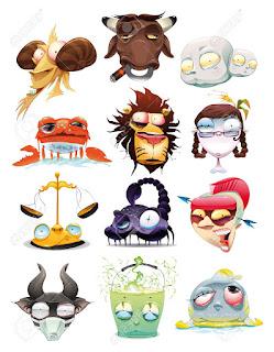 Gambar Kartun Zodiak Lucu www.gambarzoom.com