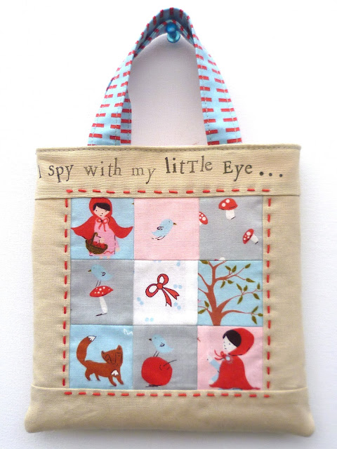 Verykerryberry A Walk In The Woods Mini Tote Tutorial