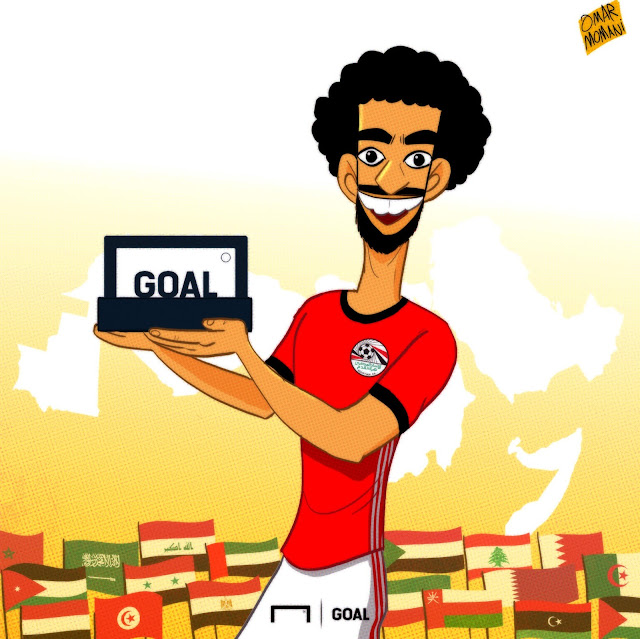 Salah cartoon