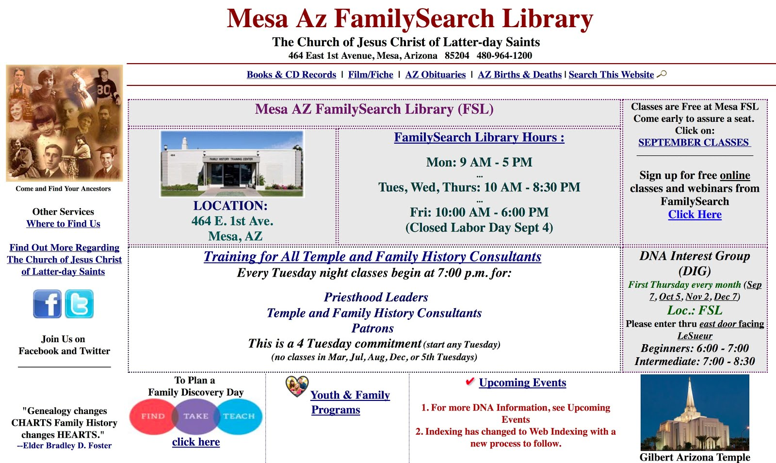 Mesa Familysearch Library Wiki