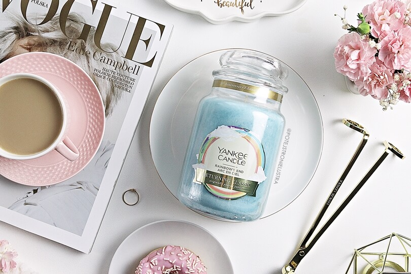 yankee candle rainbow's end 2019 50th anniversary collection