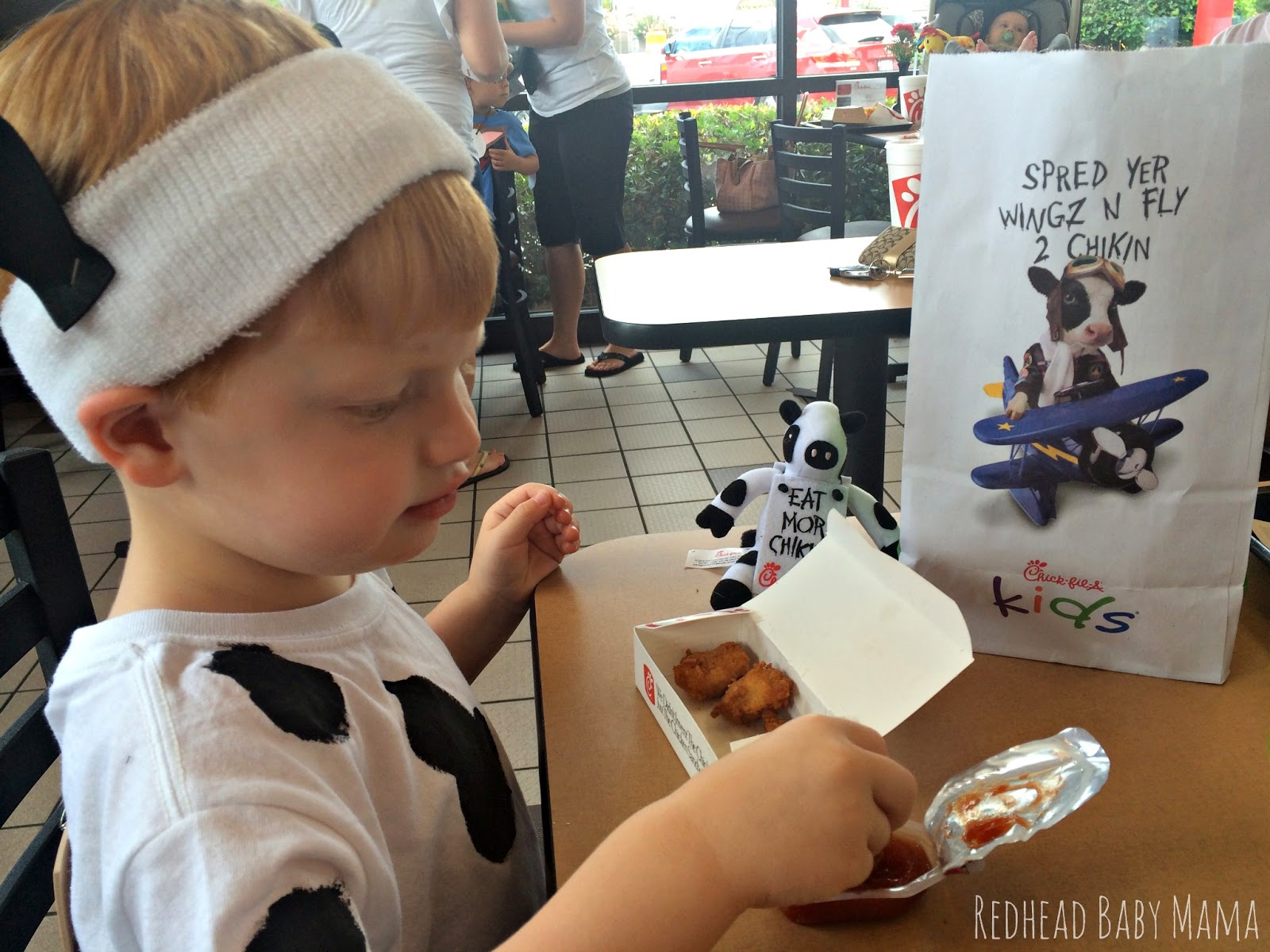 Cow Appreciation Day Chick-fil-a Kid Costume