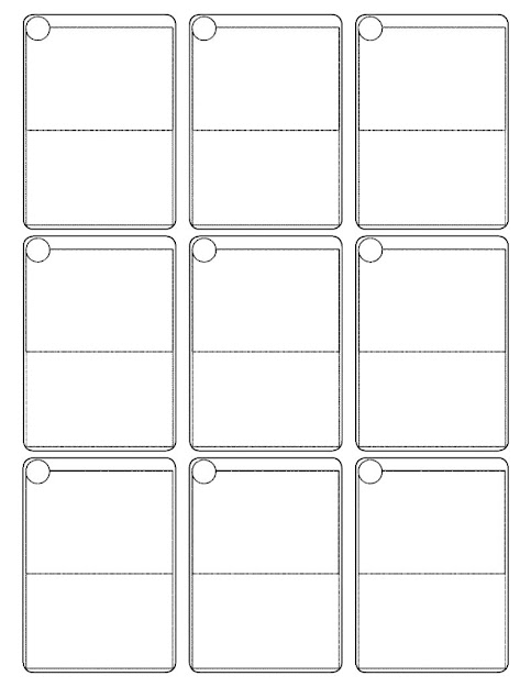 Pokemon Cards Template  All