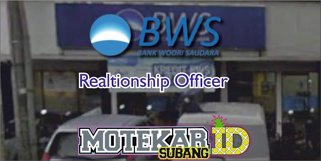 Info Lowongan Pekerjaan Bank Woori Subang  Relationship Officer April 2019