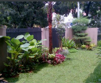 Taman Modern Minimalis - Tukang Taman Surabaya IV