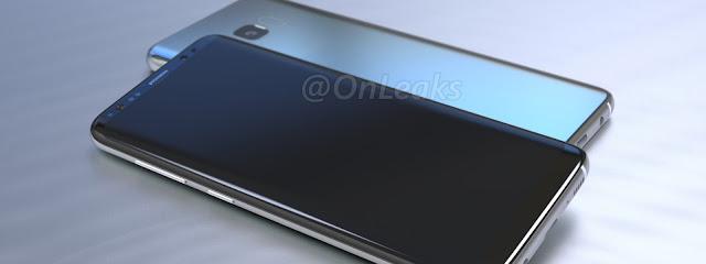 Lộ rõ hình ảnh Samsung Galaxy S8: mặt kính cong tràn, camera ít lồi và cảm biến vân tay ở mặt sau