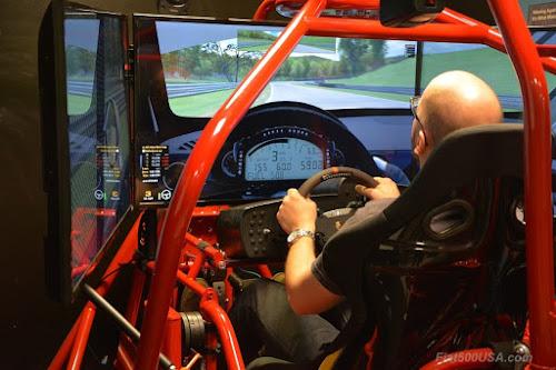 DICorse racetrack simulator