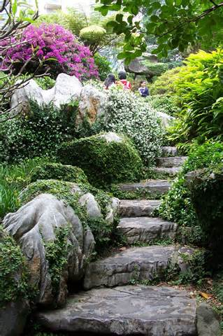 Oriental Gardens Aim To Create Tranquility Plus Balance, Usually By  Imitating Nature However, Seldom By The Utilization Of Symmetry Inside The  Shape.