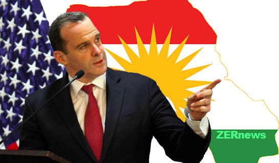Brett McGurk Kobani ABD KDP Irak Kürtler YNK Rojava