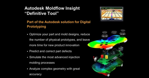 การทำ Plastic Injection Molding Analysis ด้วย Autodesk
