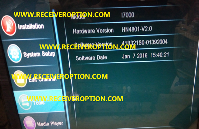 NEOSET 990HD SUPER RECEIVER DUMP FILE