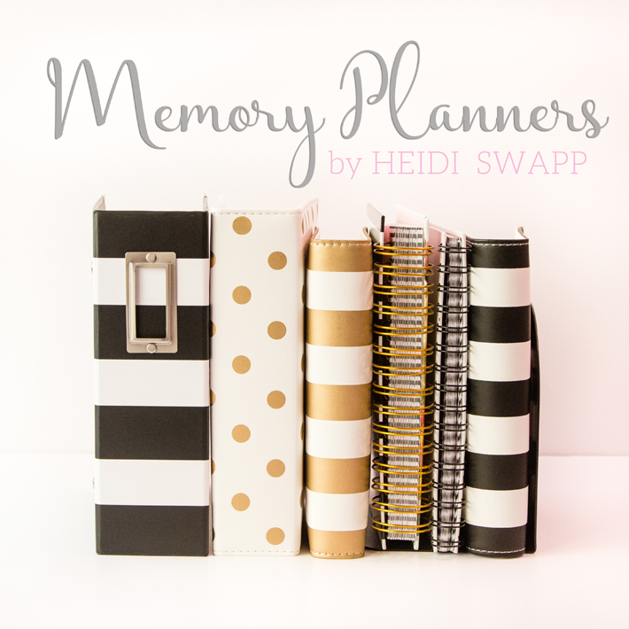 The differences between @heidiswapp's 2016 Memory Planners and where you can get them! by @createoften