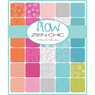 Moda Flow Fabric by Zen Chic for Moda Fabrics