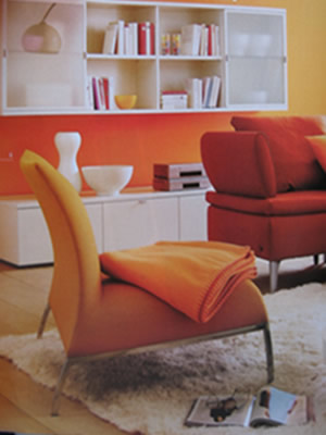 Decorating with orange like fruits and you will be happy with the ideas 2