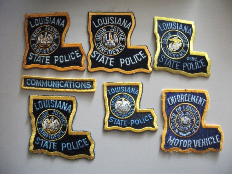 Louisiana Police Patches Collector: Misc  patches **** july 1st