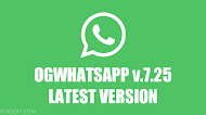 Download OGWhatsApp v7.25 Latest Version Android