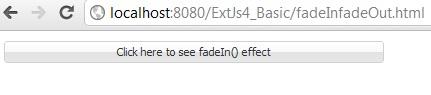 extjs fadein fadeout example