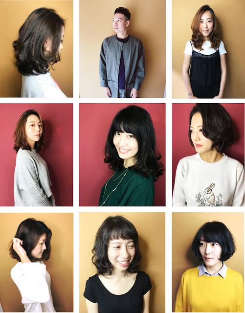 Comma Hair髮廊顧客燙染髮記錄