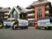 ACT DIY Kirim Bantuan 7 Truk Kemanusiaan Tahap II untuk Lombok