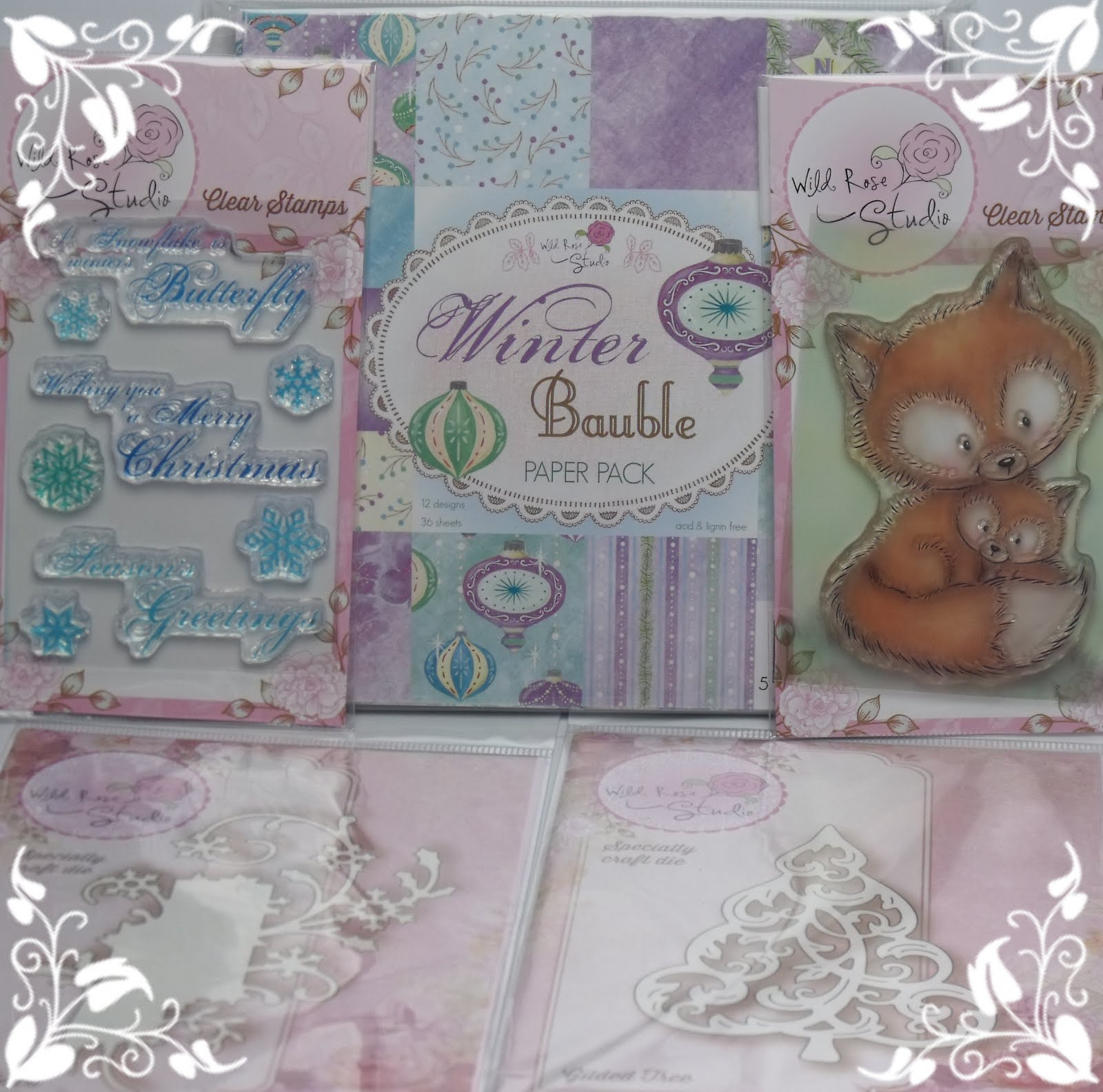 Down Right Crafty & Wild Rose Studio Blog Candy