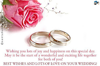 congratulations on your wedding day messages