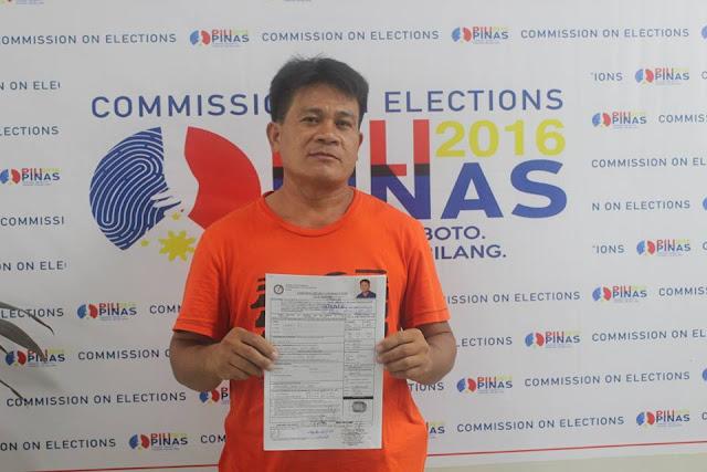 Jumao-as, Glenn Bogo Elections NUP