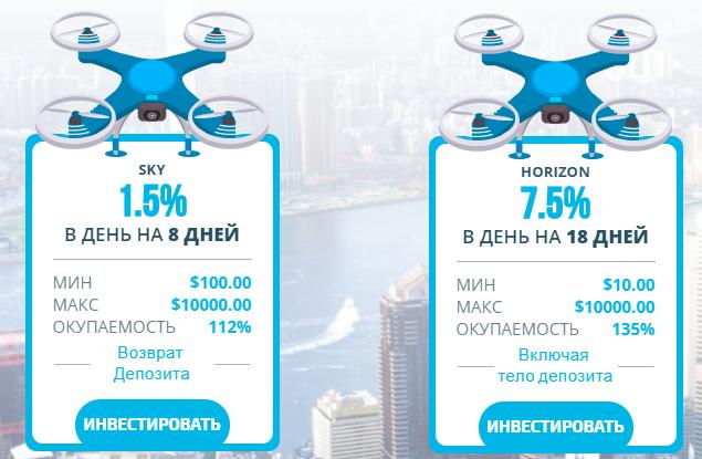 skydrone отзывы
