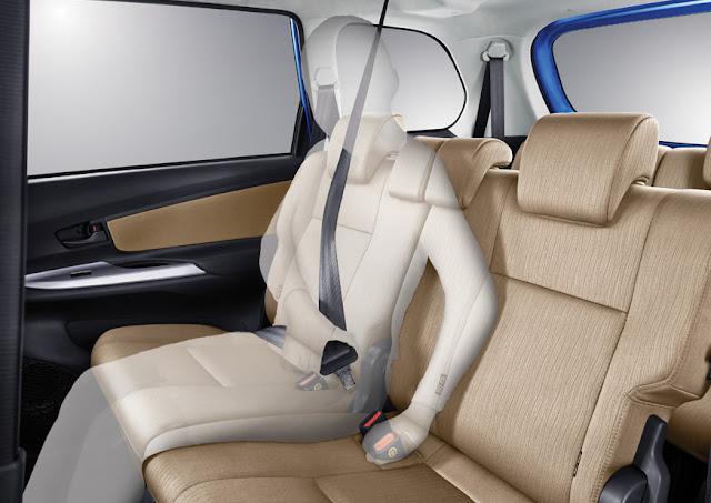 Grand New Avanza E Dan G Spesifikasi 2016 Honda 1 3 Matic Dp 15jt An Situs Penjualan Mobil Bangku Baris Ke 2 Mampu Menampung Penumpang Dengan Di Lengkapi Sandaran Kepala Untuk Tengah