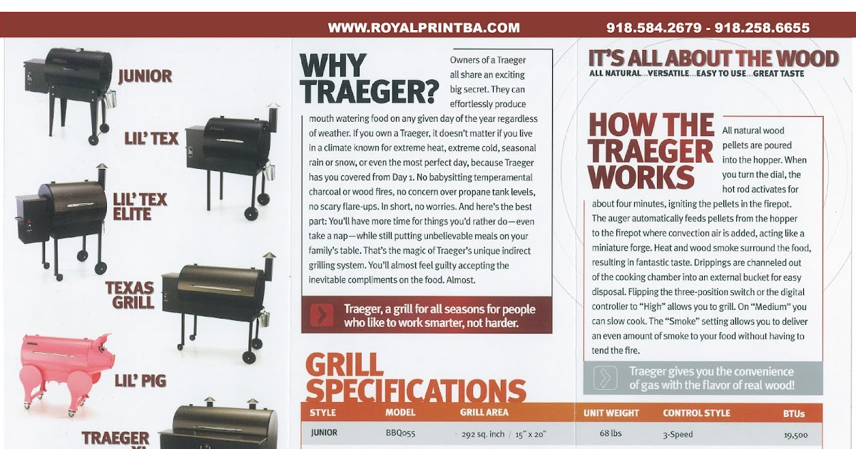 Traeger Grills: Traeger Wood Pellet Smoker Its All About The