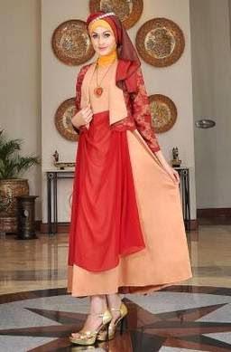 Desain Gaun Pesta Muslim Mewah dan Elegan Terbaru