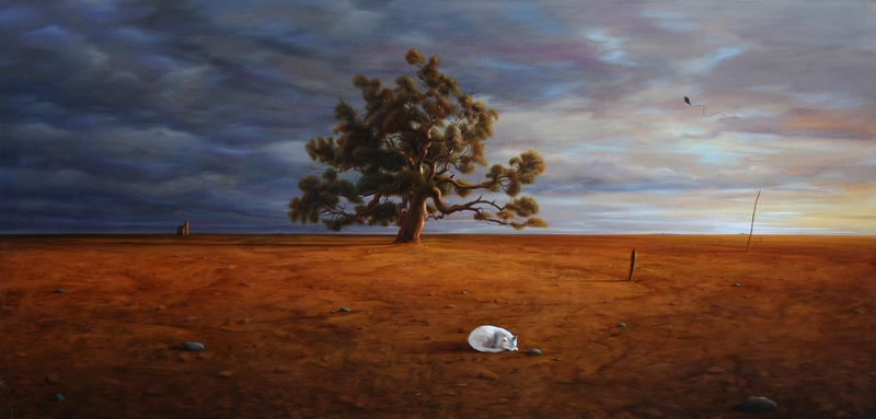 Richard Baxter 1966 | Australian Oil on canvas and Digital painter
