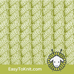 Knit Purl 52: Stockinette Triangle | Easy to knit #knittingstitches #knitpurl