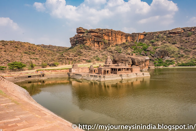 Badami Agastya Lake and Bhootnat Temple