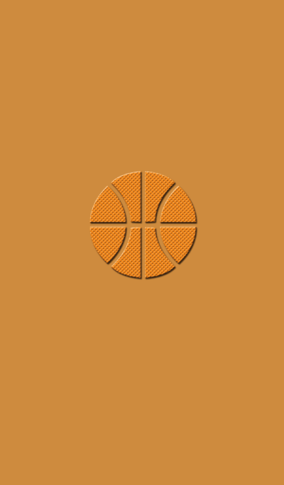 Simple basketball..