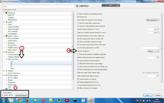 vlcscreenshot How to activate the resume playback from where i left off feature thats built in VLC player! Apps