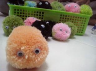 cara membuat boneka dari benang wol