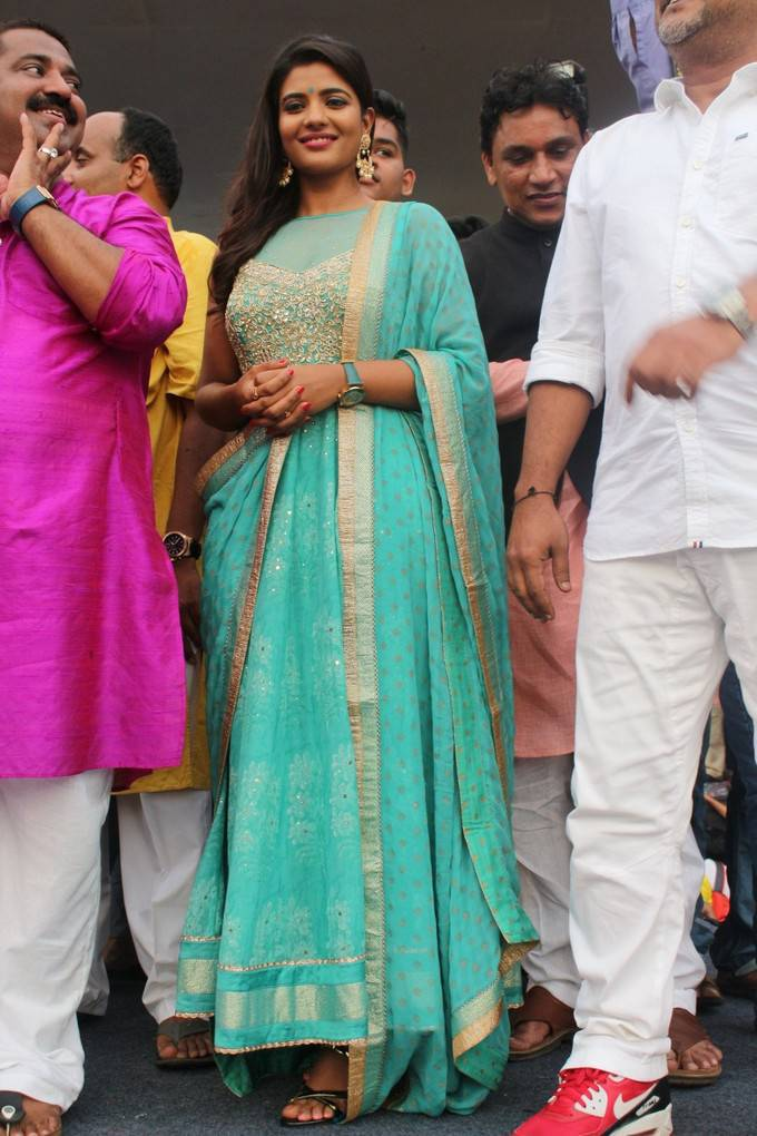 Aishwarya Rajesh At Daddy In Dahi Handi Song Launch Pics