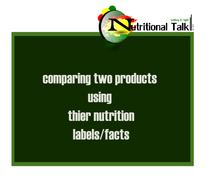 comparing two products