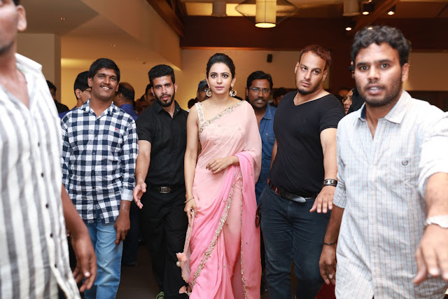 Rakul Preet Singh at Director Krish Wedding Photos
