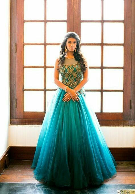 20 Indian Wedding Reception Outfit Ideas for the Bride | Bling Sparkle