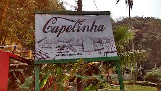 Restaurante Capelinha, em Itanhaém