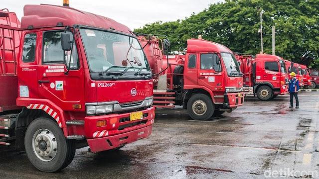 Dua Mobil Tangki Pertamina Dibajak di Ancol! Dibawa ke Depan Istana