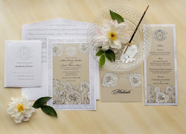 inviti matrimonio eleganti floreali