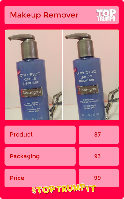 Blogger's Beauty Brawl - Neutrogena One Step Gentle Cleanser