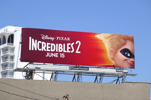 Incredibles 2 Dash billboard