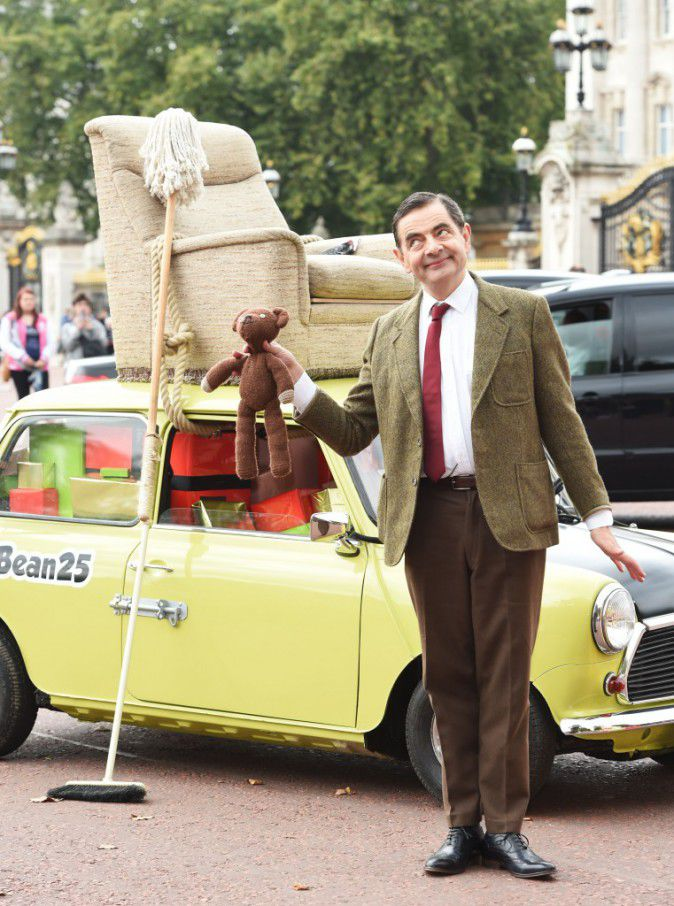 Rowan Atkinson: Mr Bean 25 celebrated in London
