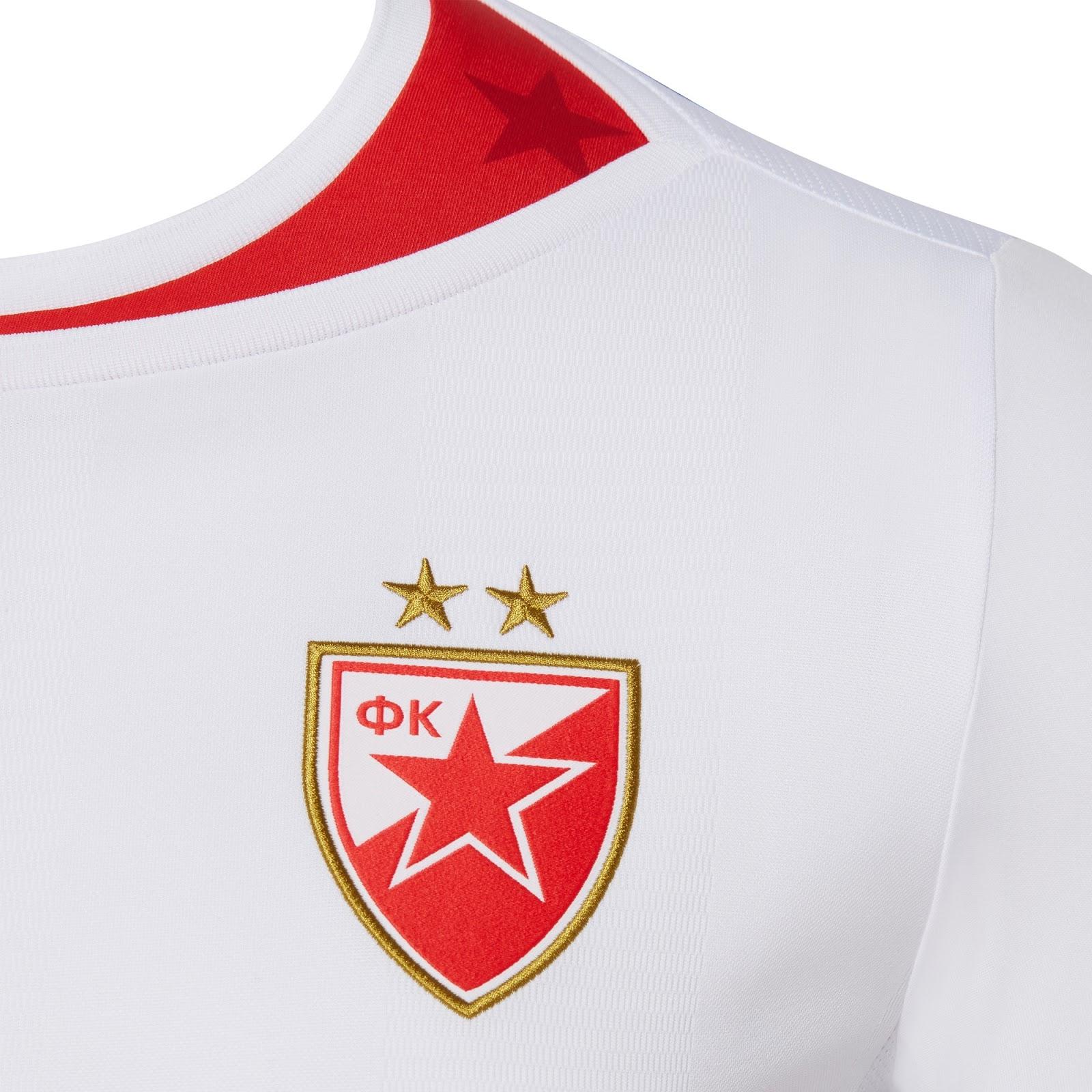 82135f3ae6 Macron lança as novas camisas do Estrela Vermelha - Show de Camisas
