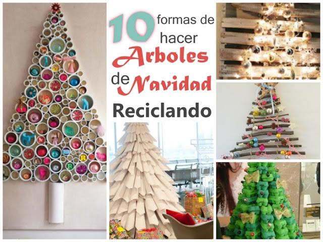 No solo diy 10 arboles de navidad diy reciclando - Arboles de navidad de papel ...