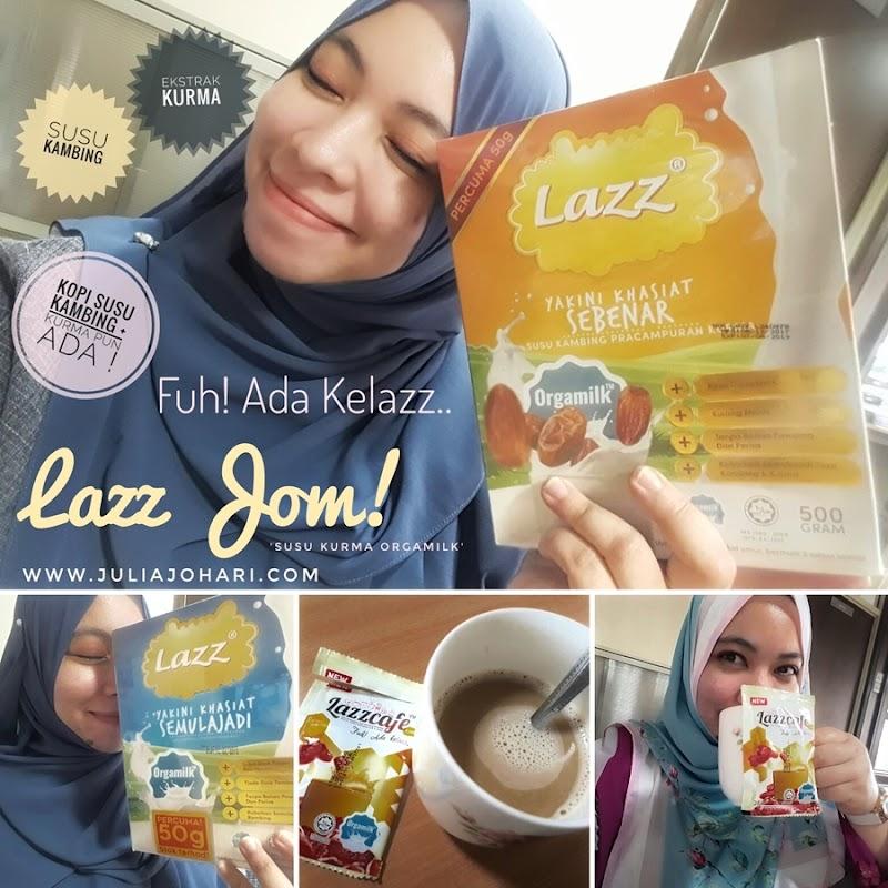 LAZZ Susu Kambing & Kurma Bantu Hamil